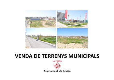 Imatge del event Presentació de venda de sòl municipal