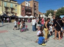 Imatge de la notícia Cerveses artesanes, animació i música en viu, a la plaça del Dipòsit