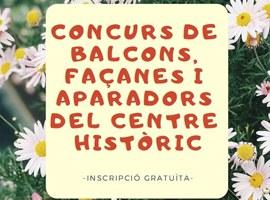 El concurs de balcons i aparadors del Centre Històric obre la votació a la ciutadania