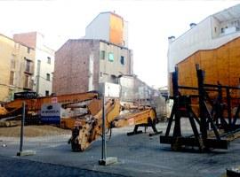 Imatge de la notícia La Paeria enderroca dos edificis al Centre Històric per avançar en la política d'habitatge al barri