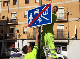 Lleida pacifica el trànsit de tot el seu Centre Històric