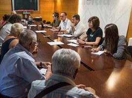 Primera reunió entre la Paeria i Som Veïns per tractar la problemàtica del Centre Històric