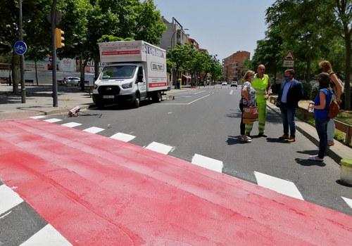 Imatge de la notícia Actuació per connectar el carril bici entre les avingudes de Miquel Batllori i Artesa, a la Bordeta