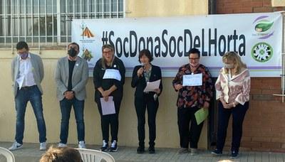 Caminada pels camins de l'Horta de Lleida per a celebrar el Dia Internacional de les Dones Rurals