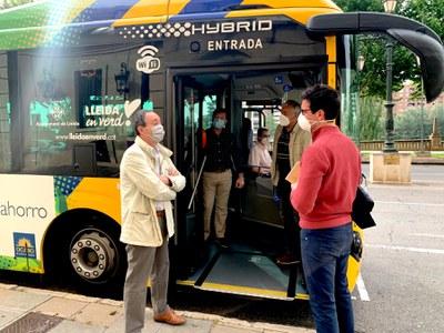 Els autobusos de Lleida incorporen noves mesures de protecció sanitària enfront de la Covid-19