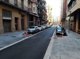 Imatge de la notícia Finalitzen les obres al carrer Comtes d'Urgell