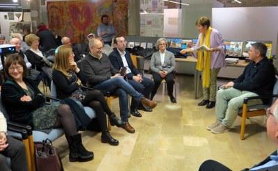 Joan Pifarré presenta els 'Secrets de L'Horta' al Centre Cívic de Balàfia