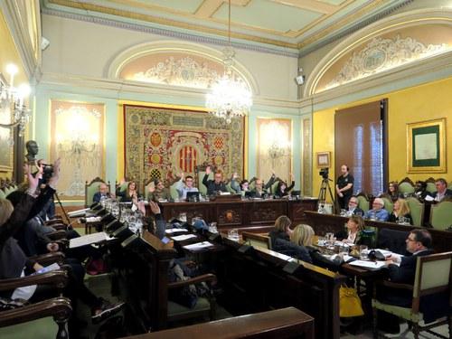 Imatge de la notícia L'Ajuntament de Lleida aprova per ple defensar públicament preus justos per al sector agroalimentari