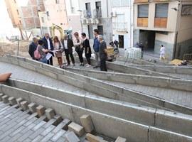 Imatge de la notícia L'Ajuntament de Lleida reurbanitza i millora el carrer Botera del Centre Històric