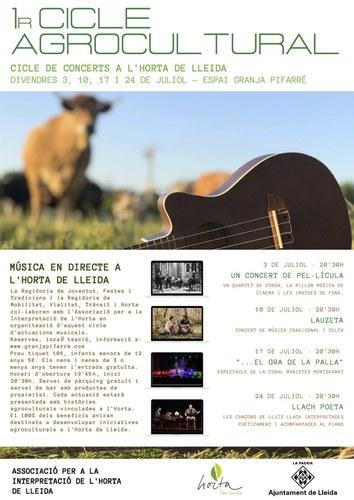 Imatge de la notícia L'Horta de Lleida estrena cicle agrocultural
