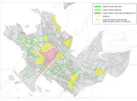 Imatge de la notícia La Paeria ampliarà les zones 20 i 30 a set barris i crearà eixos pacificats per connectar-les amb el centre