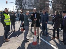La Paeria completa l'obertura del carrer Príncep de Viana cap al pont