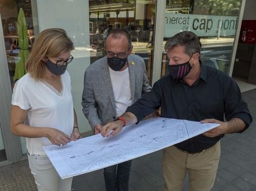 Imatge de la notícia La Paeria crea un nou carril bici a l'avinguda de València que connecta els del Camí de Picos i Riu Ebre