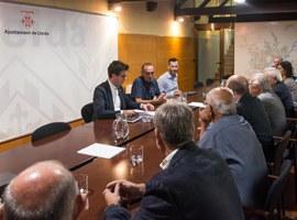 Imatge de la notícia La Paeria crearà un grup de treball amb els empresaris per millorar les infraestructures del Polígon Industrial El Segre