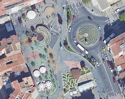 La Paeria encarrega un estudi de la resistència estructural del paviment sobre l'aparcament soterrani de la plaça Ricard Viñes