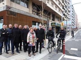 Imatge de la notícia La Paeria finalitza l'eix Nord-Sud del carril bici reforçant la mobilitat alternativa i sostenible