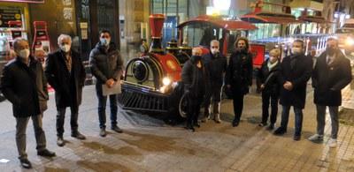 La Paeria i Autobusos de Lleida presenten el Trenet de Nadal