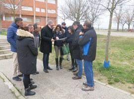 Imatge de la notícia La Paeria inicia les obres de millora del pati del col·legi Magraners