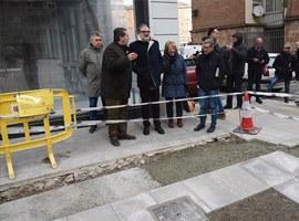 Imatge de la notícia La Paeria instal·la un nou pas de vianants semaforitzat a l'Avinguda de Madrid