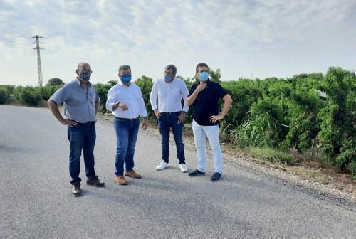 Imatge de la notícia La Paeria millora el ferm en tres camins de l'Horta