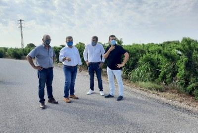 La Paeria millora el ferm en tres camins de l'Horta