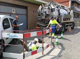 La Paeria segueix millorant la xarxa d'aigües de la ciutat, amb una inversió d'1,7 milions d'euros l'any 2019