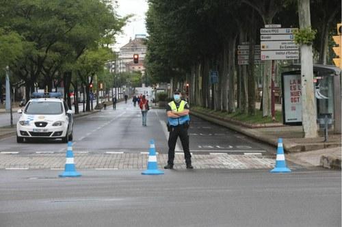 Imatge de la notícia La Paeria vianalitza diversos carrers de la ciutat aprofitant l'estat d'alarma