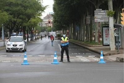 La Paeria vianalitza diversos carrers de la ciutat aprofitant l'estat d'alarma