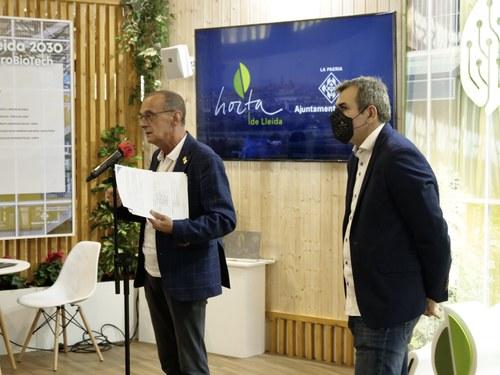 Imatge de la notícia L'alcalde Miquel Pueyo fa una crida a reforçar i difondre la marca Horta de Lleida