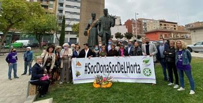 Les Dones de l'Horta de Lleida celebren el Dia Internacional de les Dones Rurals