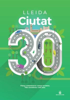 Lleida es converteix a partir de divendres en Ciutat 30