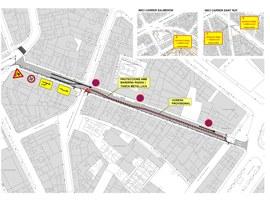Imatge de la notícia Tall de trànsit per obres de pavimentació a Anselm Clavé