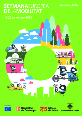 Ampliació dels carrers per a vianants per la celebració de la Setmana Europea de la Mobilitat