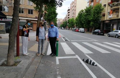 Imatge de la notícia Finalitzat el nou carril bici a l'av. de València
