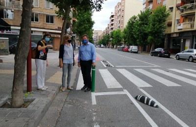 Finalitzat el nou carril bici a l'av. de València