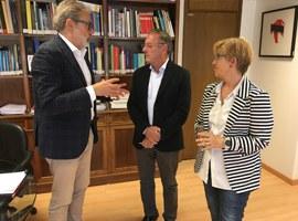 El paer en cap demana al Ministerio de Cultura col·laborar amb el Pla de Muralles de la Ciutat de Lleida