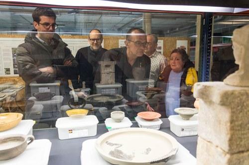 Imatge de la notícia Els Diumenges d'Arqueologia conviden a visitar les Adoberies de la rambla de Ferran