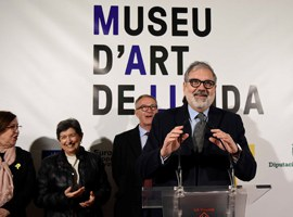 Imatge de la notícia Lleida enforteix la seva capitalitat cultural amb l'inici de les obres del nou Museu d'Art