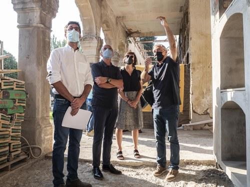 Imatge de la notícia Avança la construcció de 45 nous nínxols al departament de Santa Cecília
