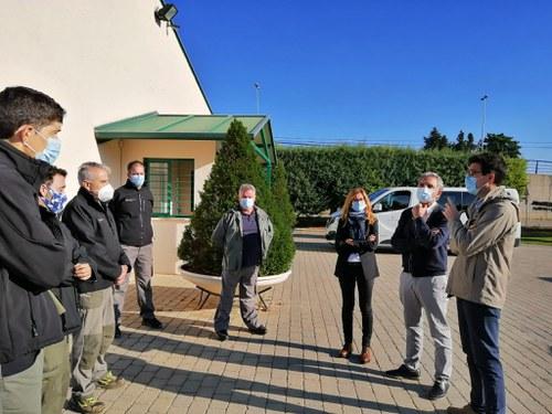 Imatge de la notícia Conveni de col·laboració entre l'IMO i el CIFO per desbrossar el Turó de Gardeny