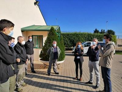 Conveni de col·laboració entre l'IMO i el CIFO per desbrossar el Turó de Gardeny