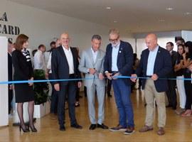 Imatge de la notícia El paer en cap, Fèlix Larrosa, inaugura el Saló Immobiliari Ciutat de Lleida