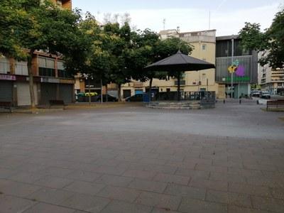Finalitzades les obres de condicionament a la plaça de Sant Joan de Mata, a Cappont