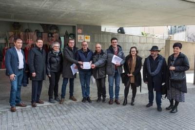 Front comú d'institucions, agents socials i usuaris de l'AVANT per millorar el servei de l'alta velocitat a Lleida