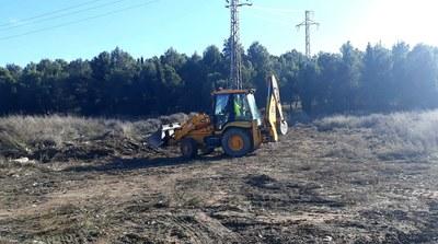 Ilnet neteja 13 tones de residus del camí de la Corda de Gardeny