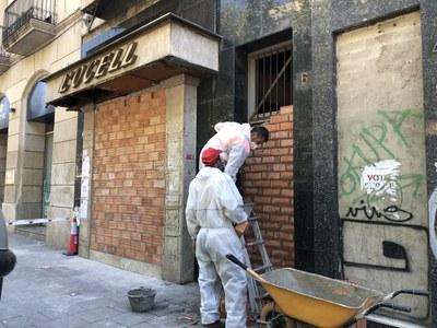 L'Ajuntament de Lleida trasllada els ocupants de Rambla Ferran 6 a recursos habitacionals adequats