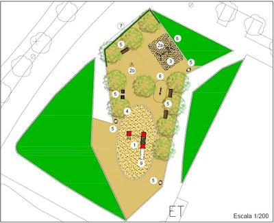 L'Ajuntament renova el Parc infantil de l'av. Ciutat Jardí