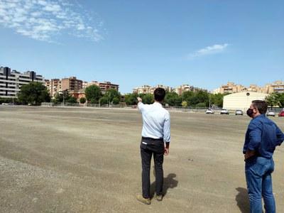 La Paeria finalitza la primer fase de millora del paviment dels aparcaments provisionals gratuïts