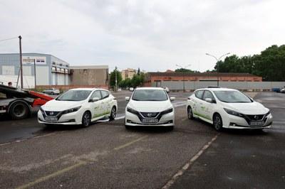 La Paeria incorpora tres nous vehicles elèctrics al seu parc mòbil