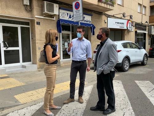 Imatge de la notícia La Paeria millora el carril bici al barri de la Bordeta